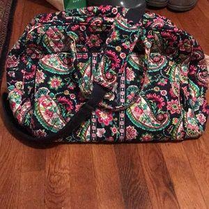 Vera Bradley medium size weekender bag.